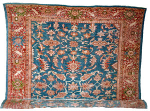 Antique Persian Sultanabad carpet, probably produced by the Anglo-Swiss company Ziegler & Co. in the late 19th century