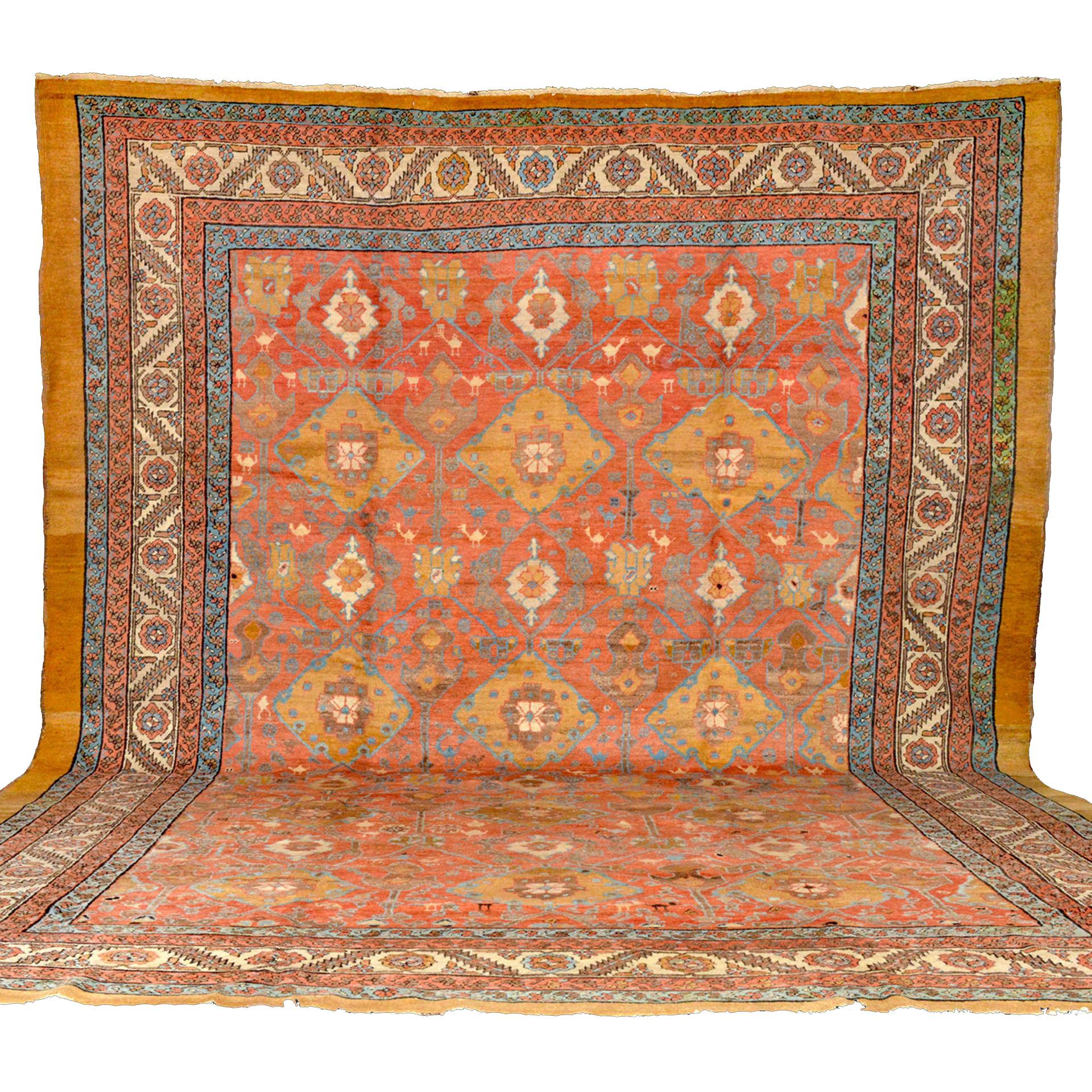 Antique northwest Persian Bakshaish carpet from Douglas Stock Gallery, antique Oriental rugs Boston,MA area