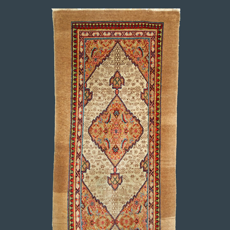An important 19th century northwest Persian Serab runner
