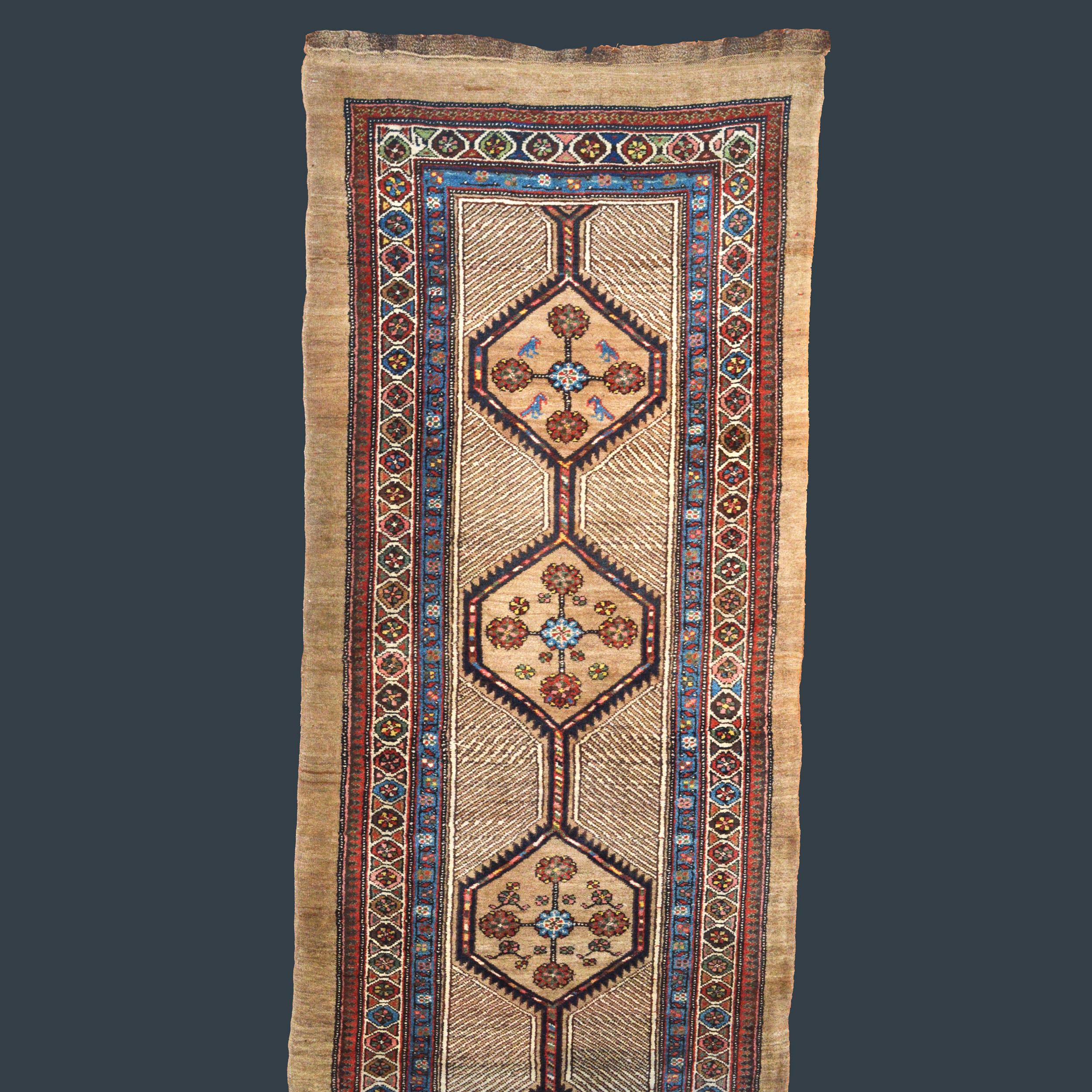 Late 19th century Serab runner, northwest Persia